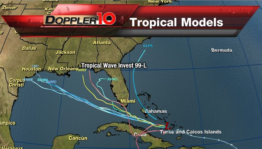 Tropical Depression Headed Toward Outer Banks
