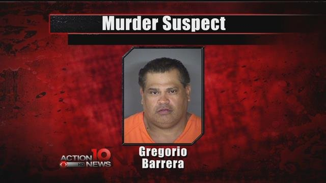 Gregorio Barrera, suspect arrested in murder of brother, Andrew Barrera whose remains were found on Padre Island National Seashore back on September 28th.