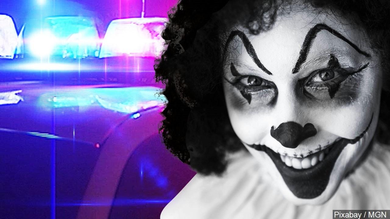 Police Warn Of Clown Sightings