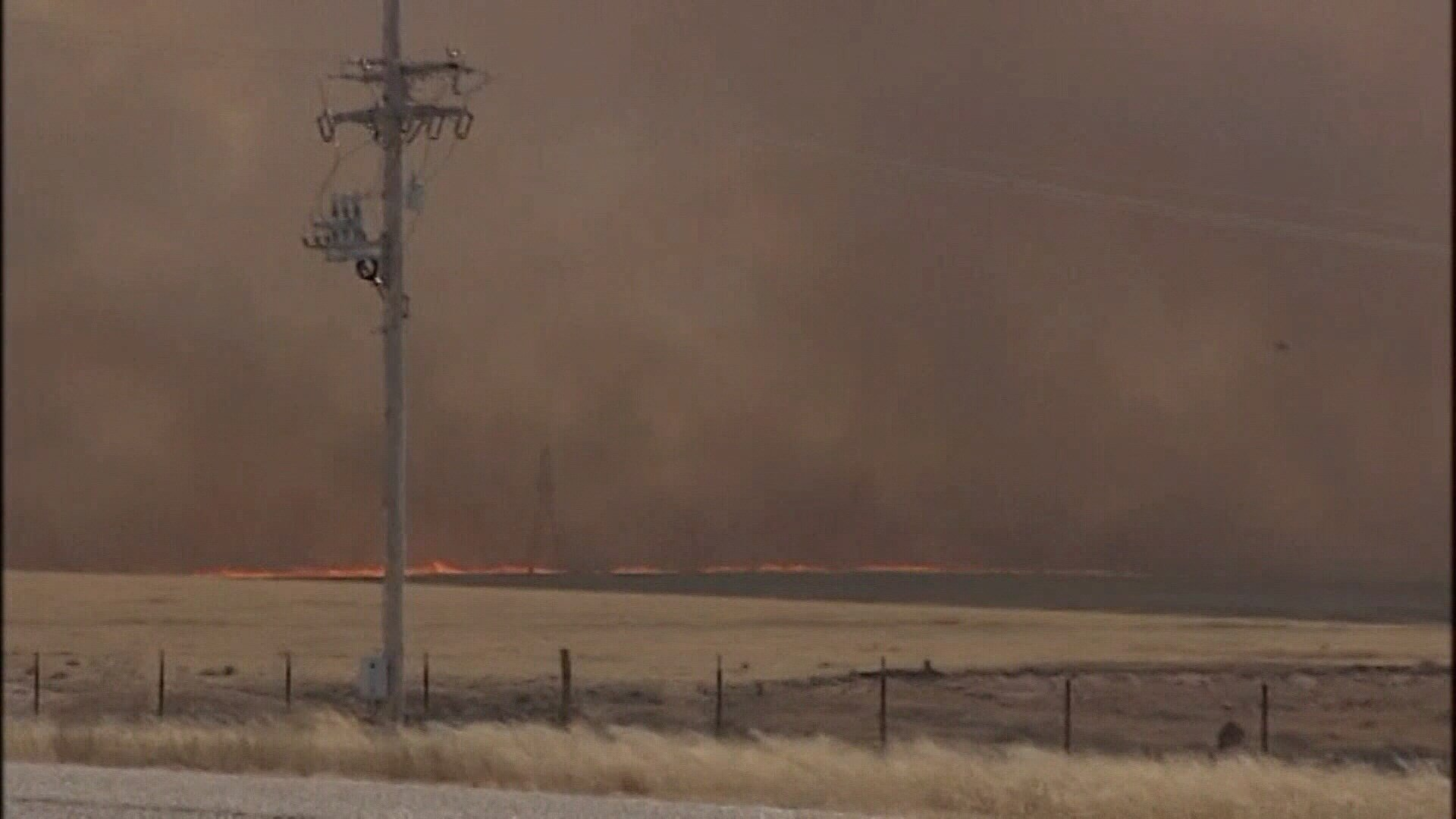 Several wildfires threatened the Texas Panhandle