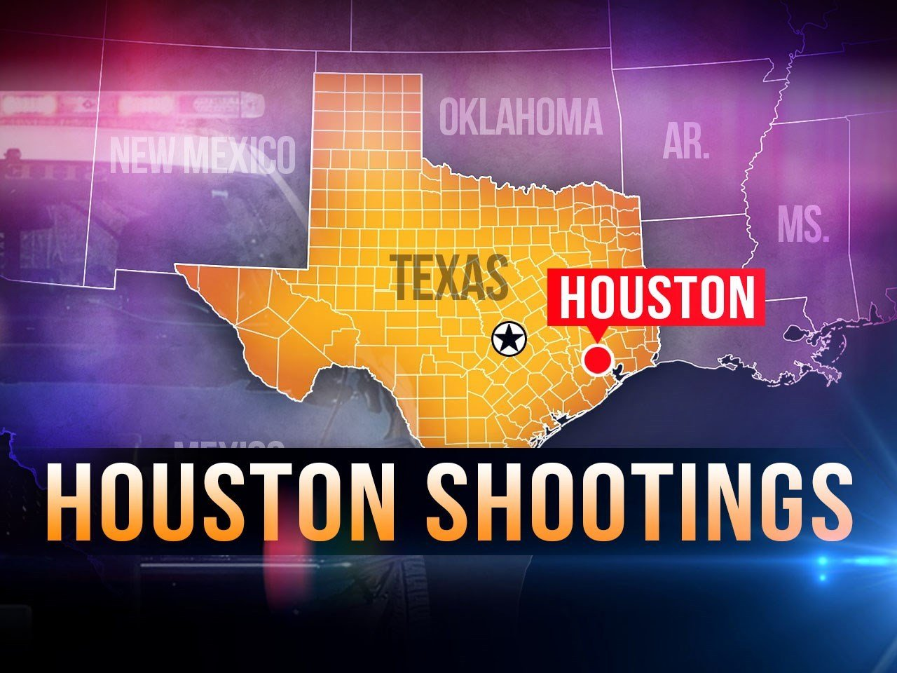 2 dead, 4 wounded in shooting at Houston apartment complex