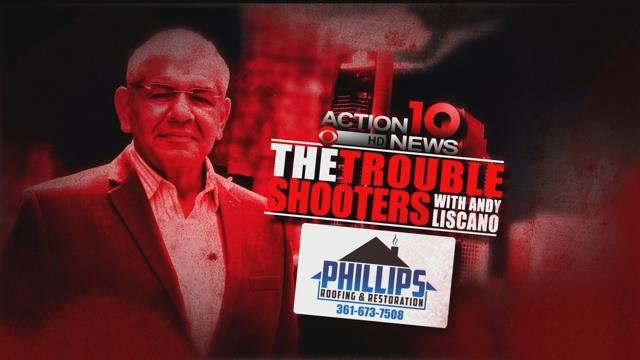 Troubleshooters Logo Phillips Roofing