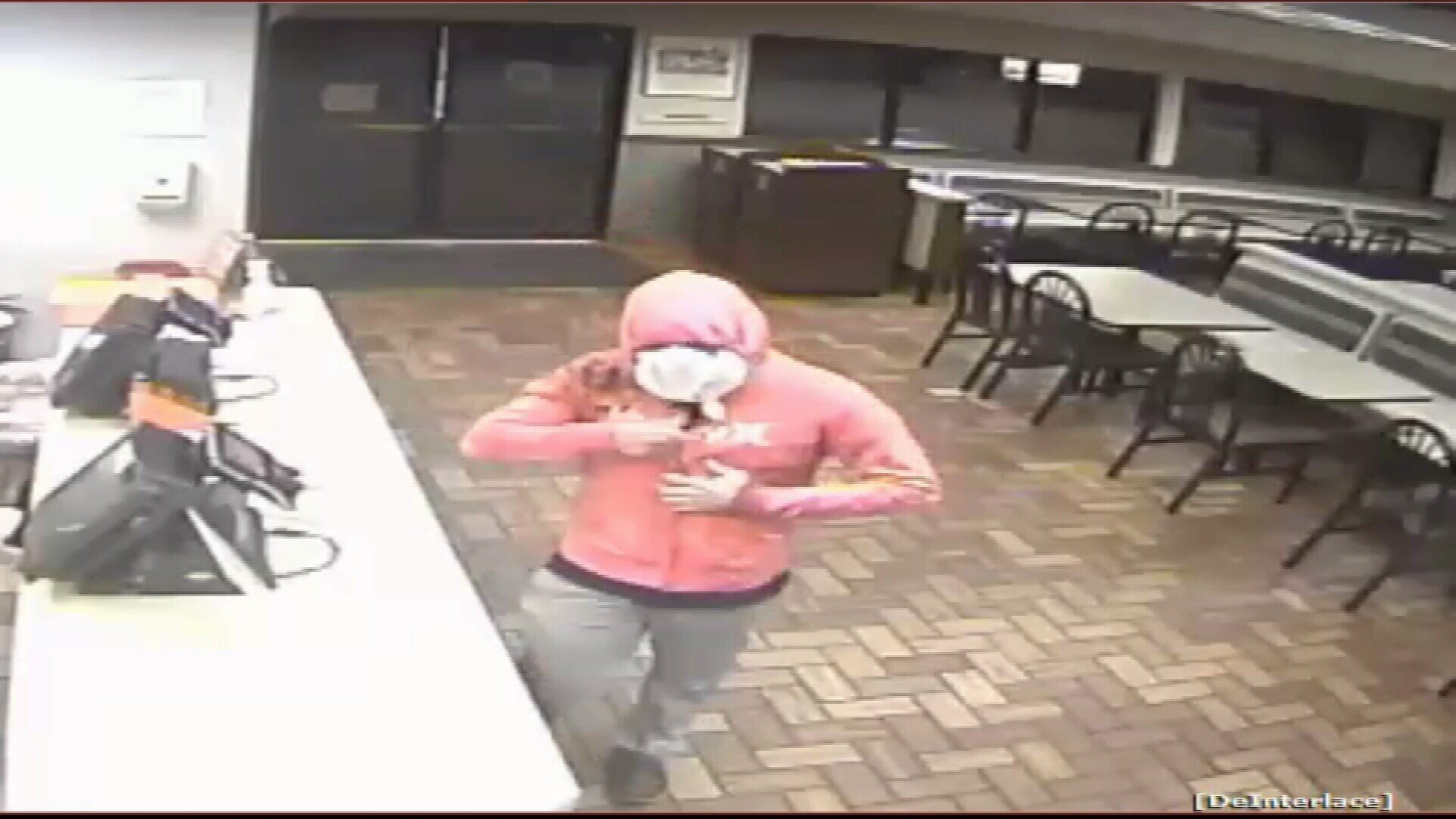Crime Of The Week: Man gets caught on camera robbing a Whataburger.