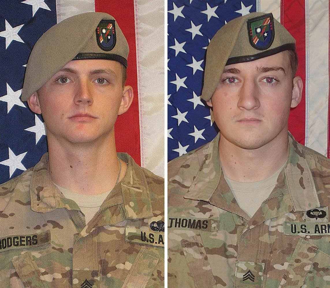 Army Rangers killed in Afghanistan were possible victims of friendly fire