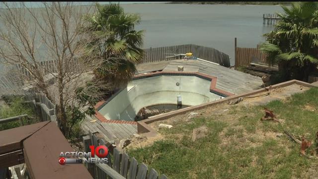 Dirty pool at center of neighbor dispute