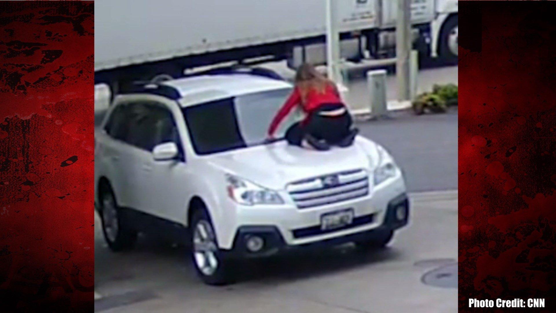 Woman Fights Off Car Thief at Gas Pump