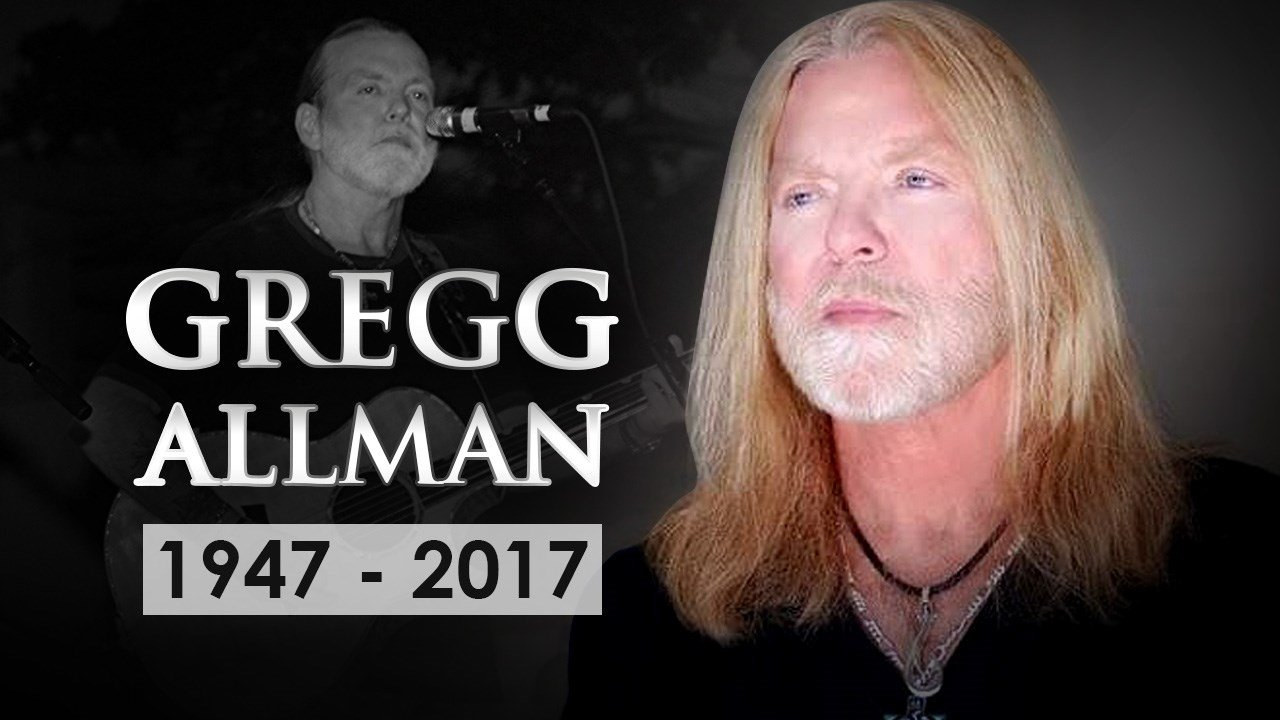 Gregg Allman, the highly influential rock musician, has died at 69. Photo: Gregg Allman/Facebook, Andre Klein / MGN
