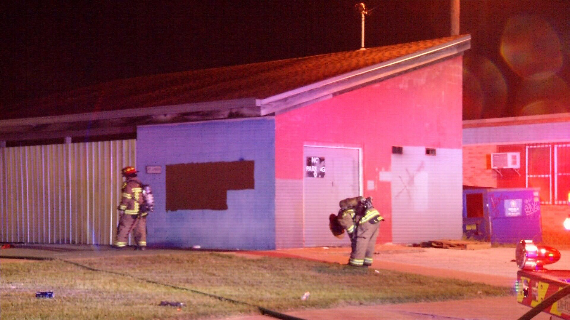 A second fire in an abandoned building leads investigators to believe the same person may have set both fires.