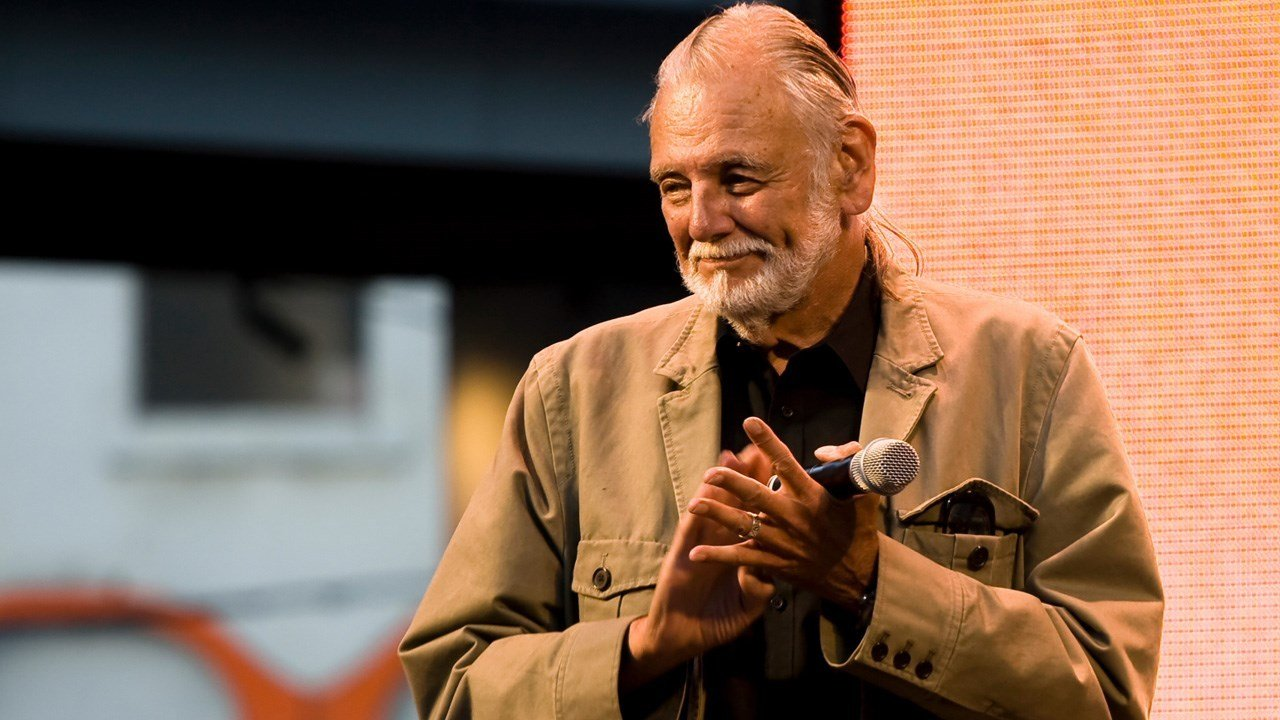 George Andrew Romero is an American-Canadian filmmaker and editor best known for his series of gruesome and satirical horror films about a hypothetical zombie apocalypse beginning with Night of the Living Dead. Birthday 2/4 1940, Photo Date: 9/12/09