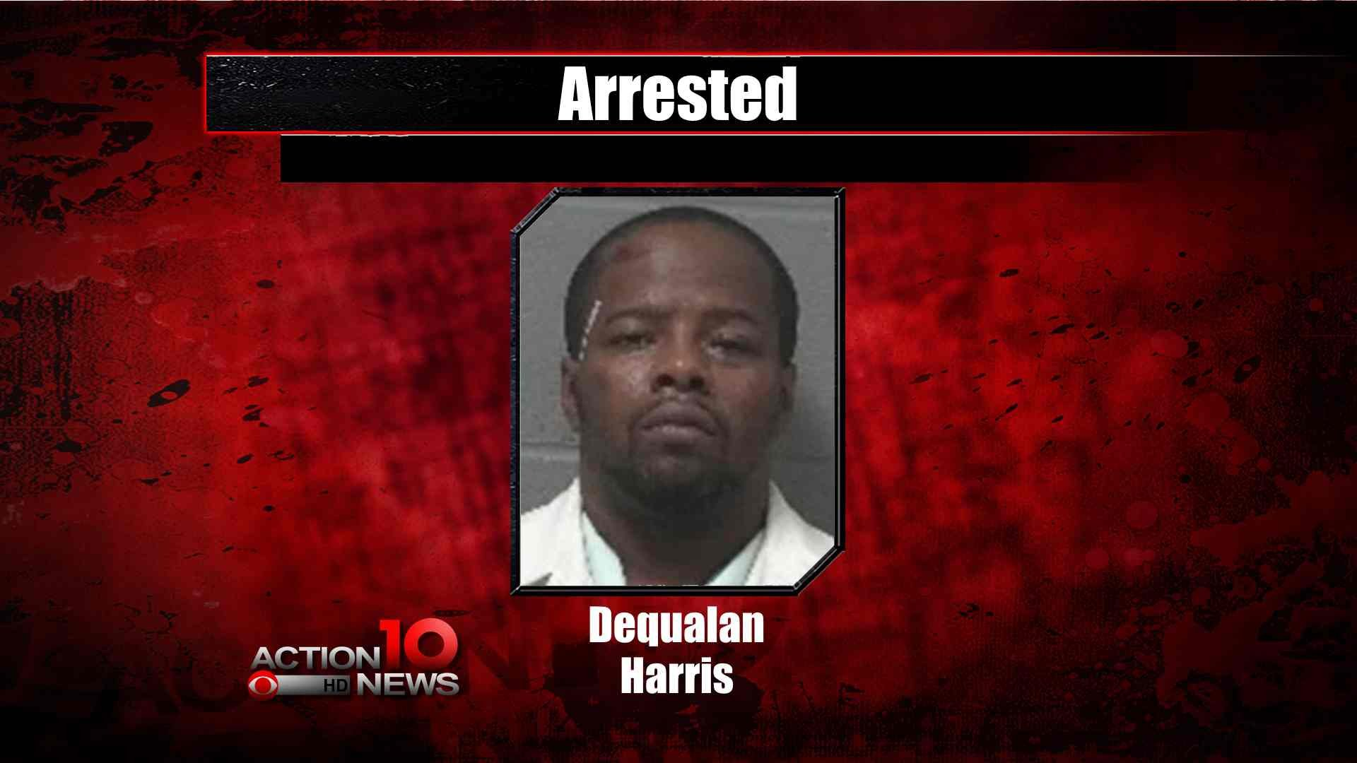 Dequalan Harris, charged in wife's death. (Photo Credit: CBS DFW)