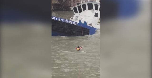US Coast Guard rescues 32 people as Harvey churns Texas waters