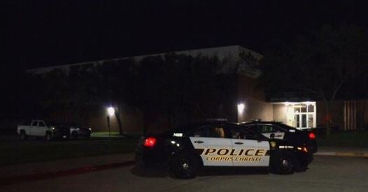 Cops caught a man breaking into King High School.