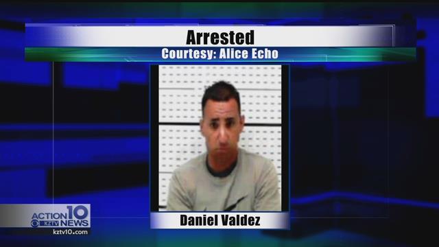 Daniel Valdez, arrested for online solicitation of a minor.