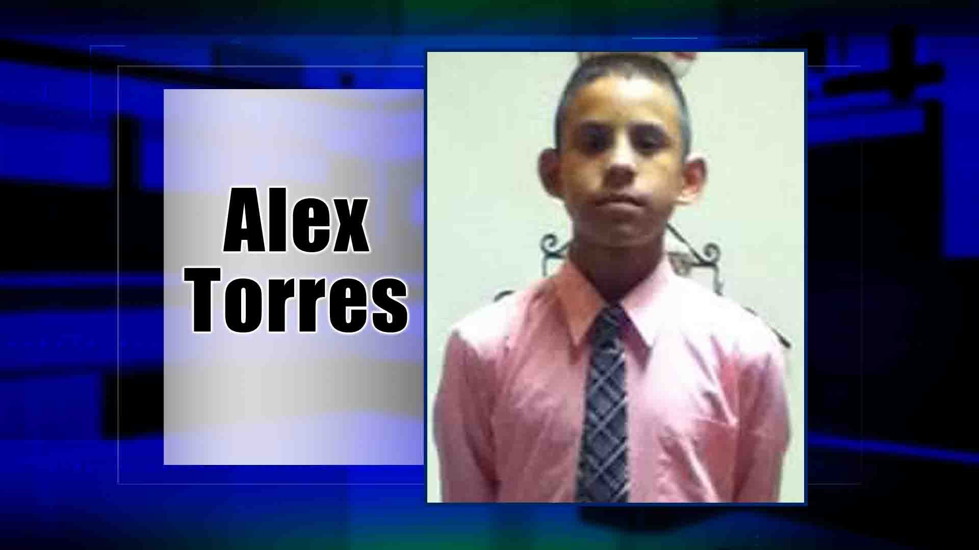 13-year-old Alex Torres was shot and killed by mistake in 2015.