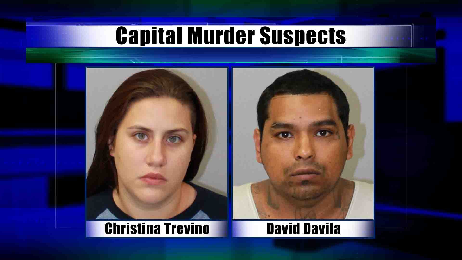 Christina Trevino and David Davila are charged with Capitol murder in shooting death of 13-year-old Alex Torres