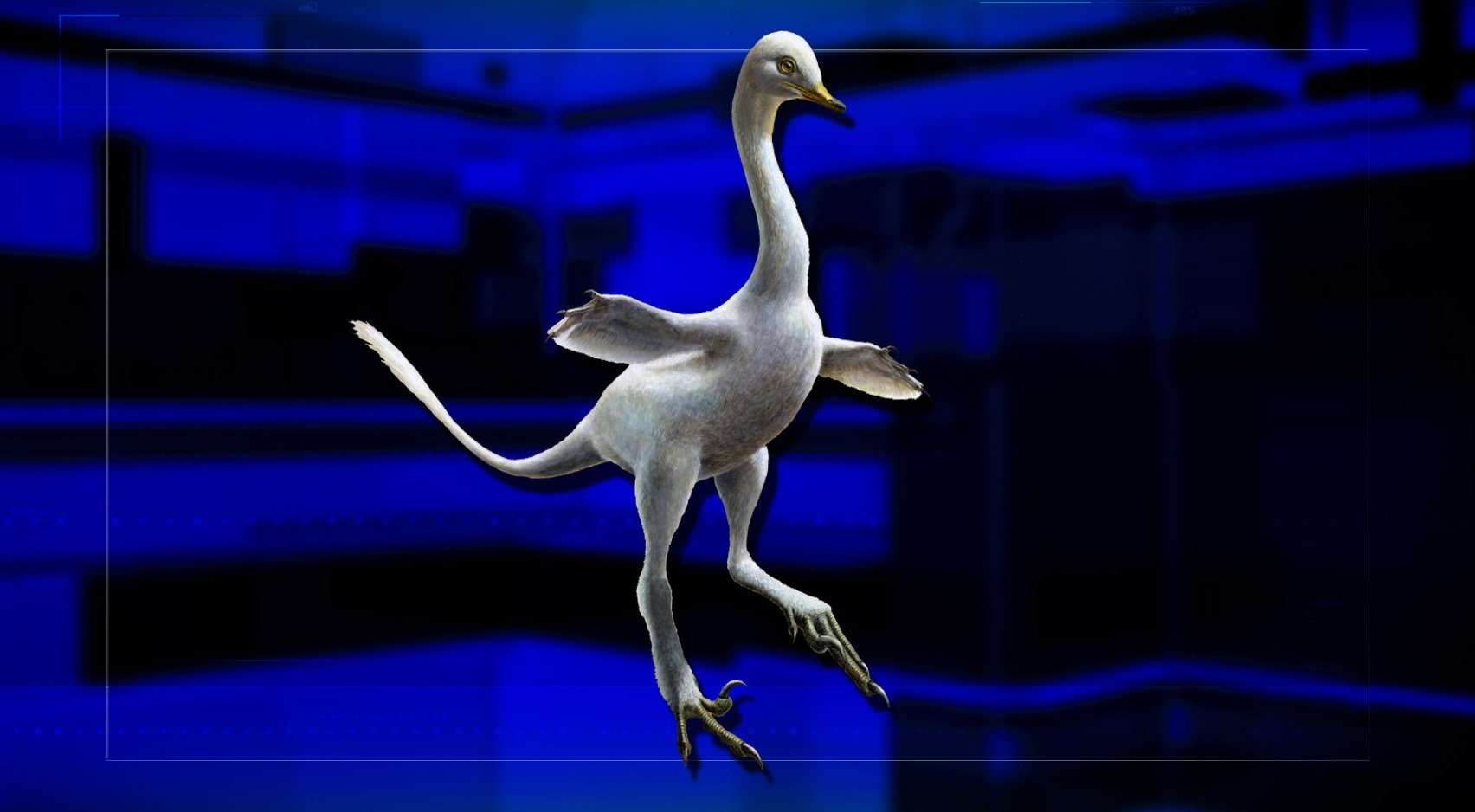 A new dinosaur named Halszkaraptor escuilliei looks more like a creation of Dr. Seuss than mother nature.