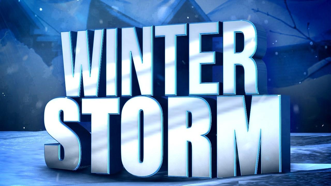 School schedule adjustments due to winter storm