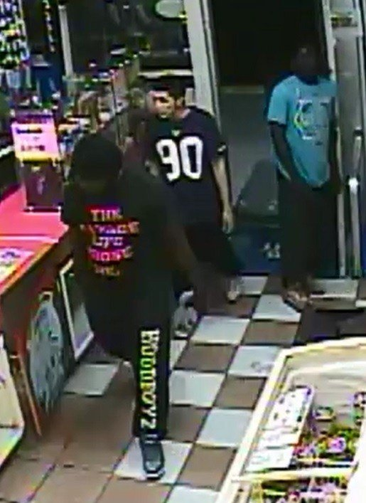 Crime of the week: Cops are looking for three men wanted for armed robbery.