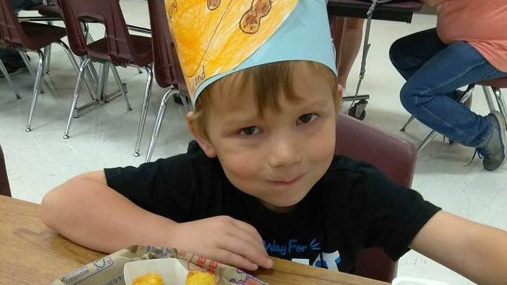 Ryland Ward, 5, was injured in the Sutherland Springs shooting