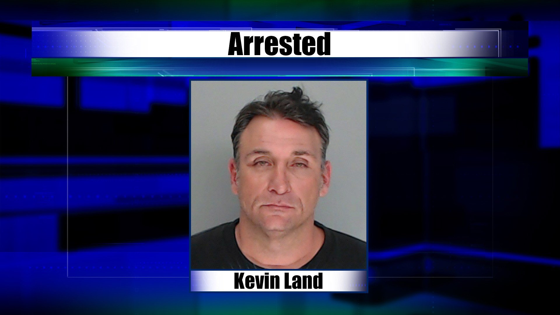Kevin Land was arrested for reckless driving, possession of marijuana and drug paraphernalia, and escaping custody