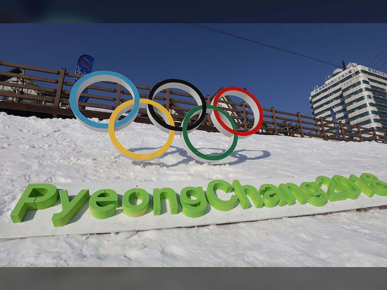 The 2018 Winter Olympics in Pyeongchang