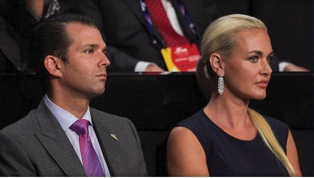 Vanessa and Donald Trump Jr - photo CBS News
