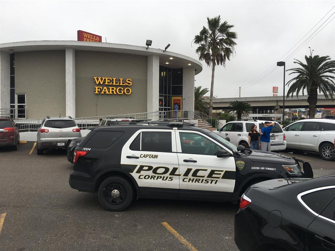 Wells Fargo Bank in Gulfway was robbed today around 4 pm