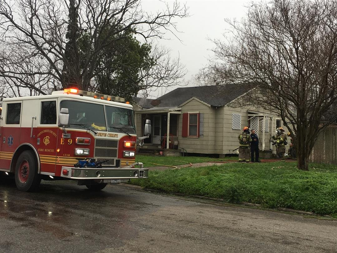 Elderly woman rescued from her burning home on Victory Street