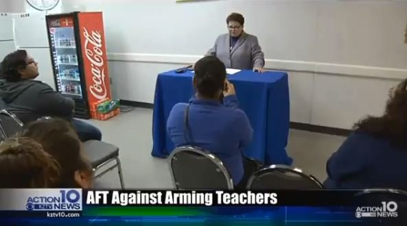 Local teachers union push back against arming educators