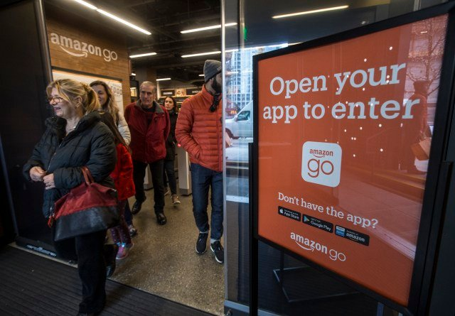 "Amazon ""Go"" Store/CBS Sacramento"