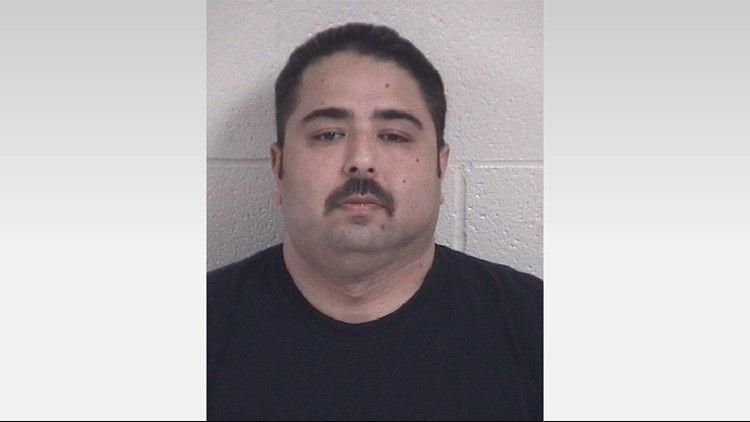 John Rutherford, 40, arrested for multiple charges in aiding a drug dealer  photo KHOU.jpg