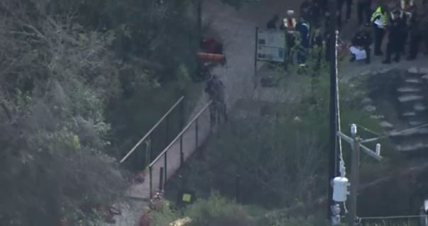Crews work to rescue teen stuck in cave in San Antonio, Texas