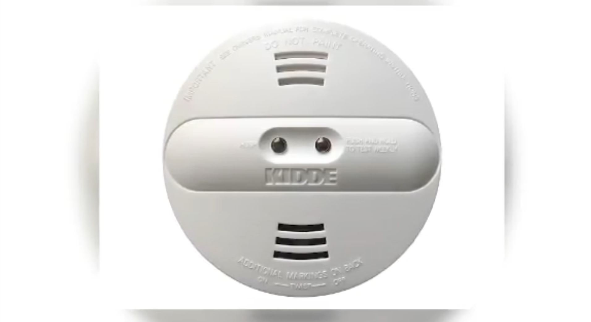 Kidde recalls smoke detector due to alarm failure
