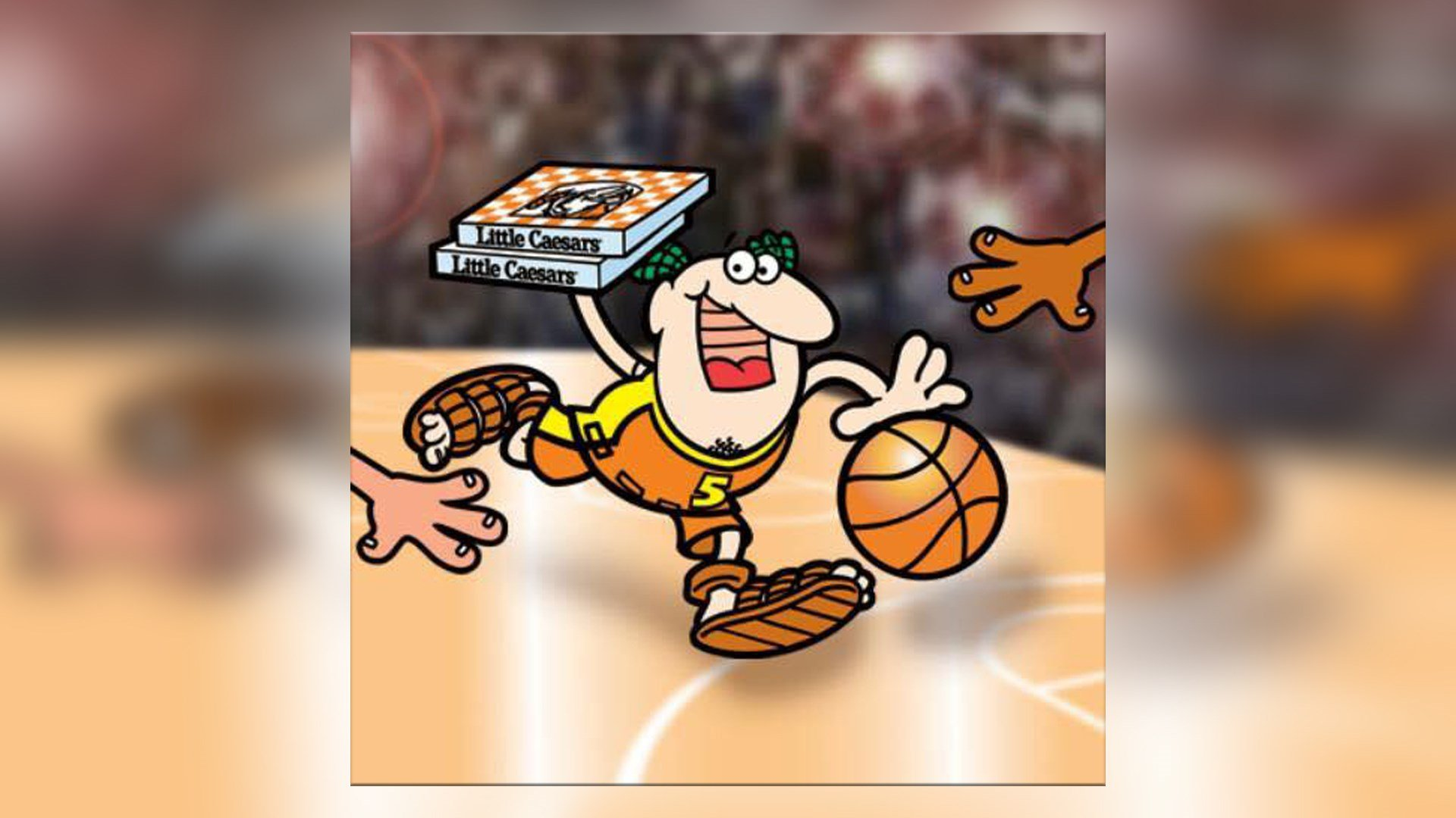 Free Little Caesars for lunch today, thanks to UMBC's NCAA upset