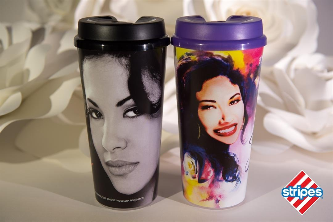 Stripes convenience stores to sell 2 new Selena commemorative cups
