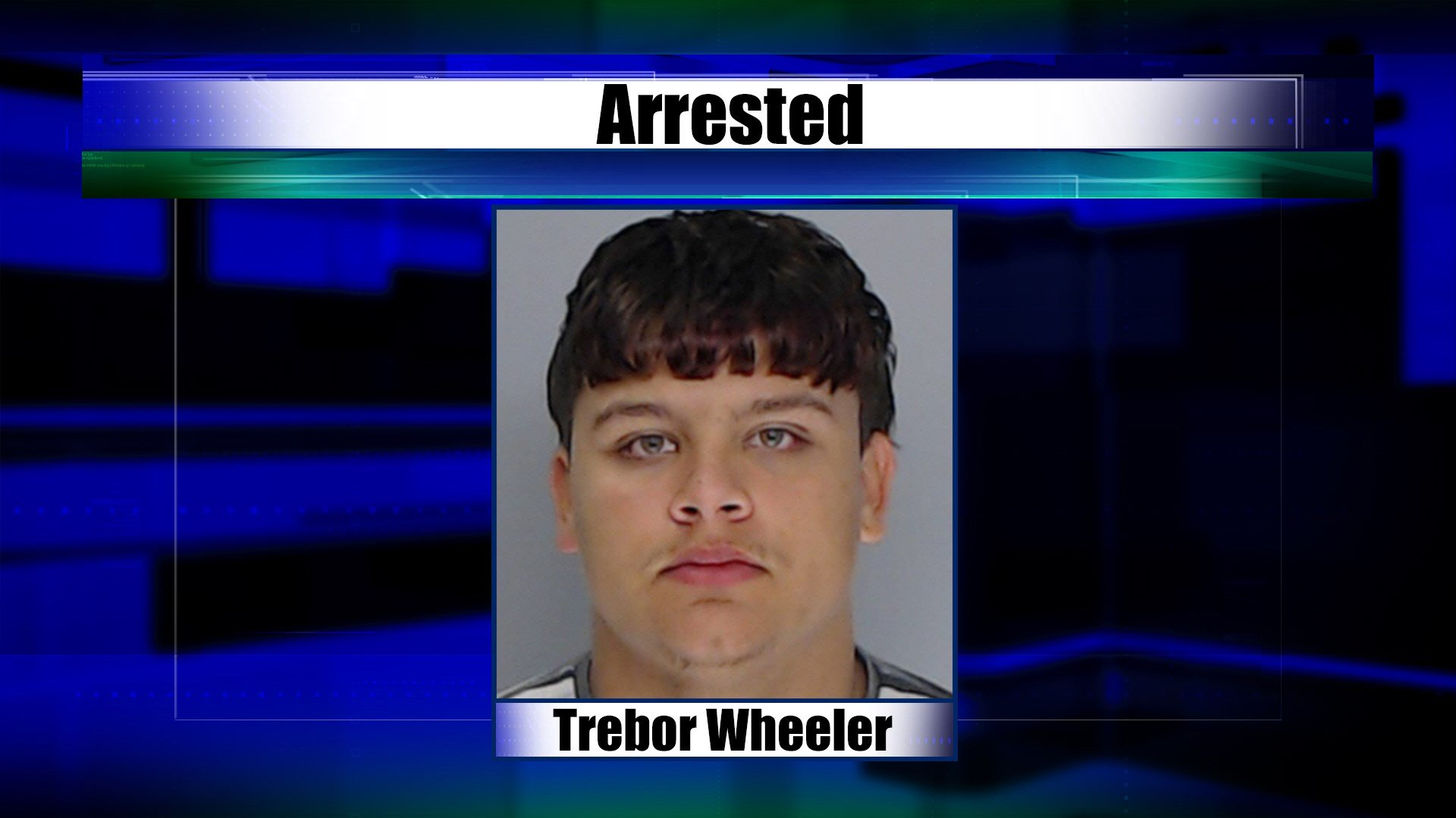 Sheriffs arrested Trebor Wheeler in connection to the home invasion and shooting of two people.
