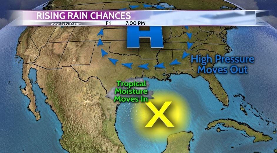 Rising Rain Chances