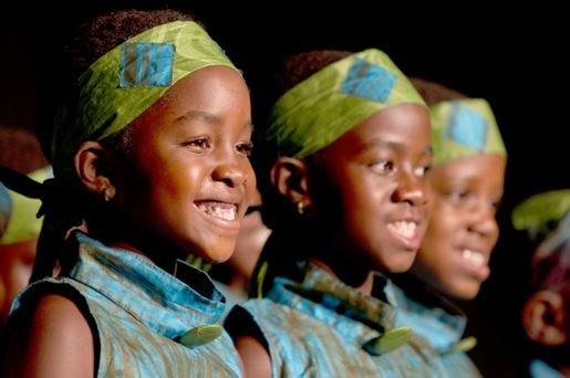 Photo courtesy of the African Children's Choir.