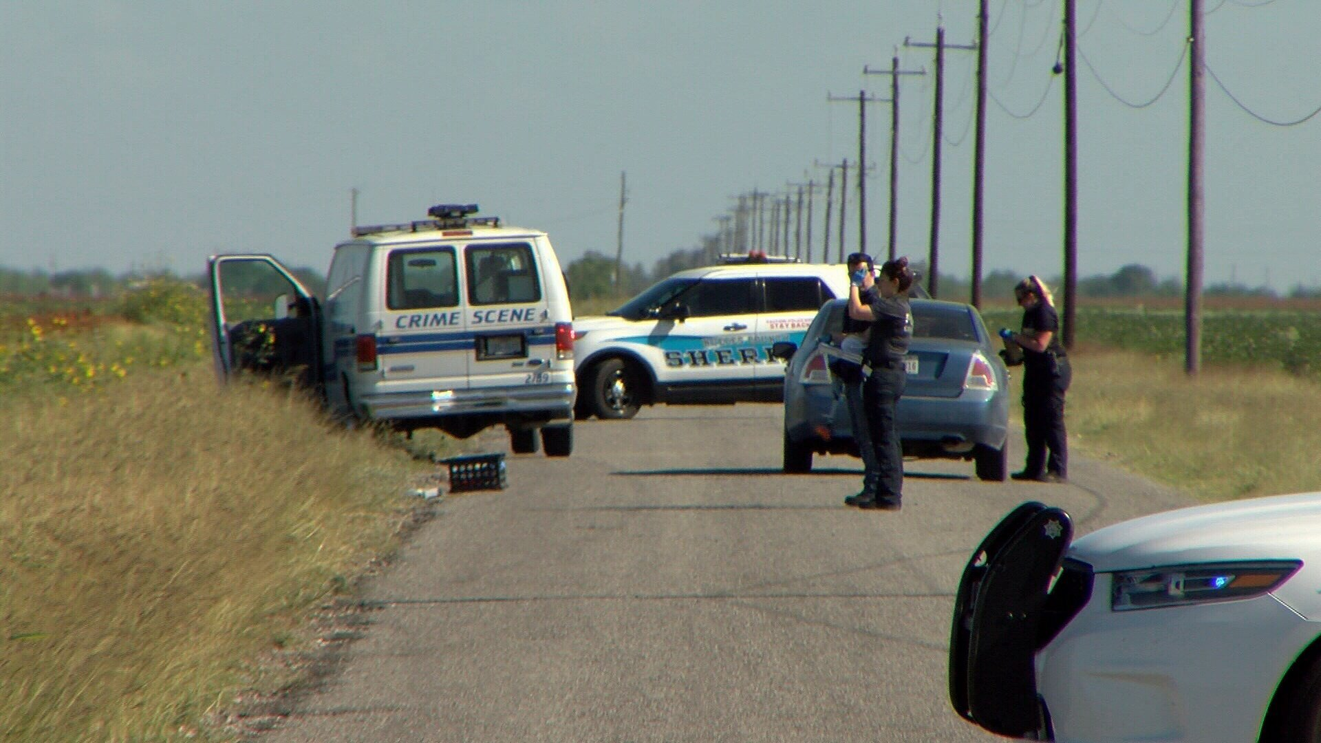Police sent out a notice that they found a body near CR 63 and CR 20.