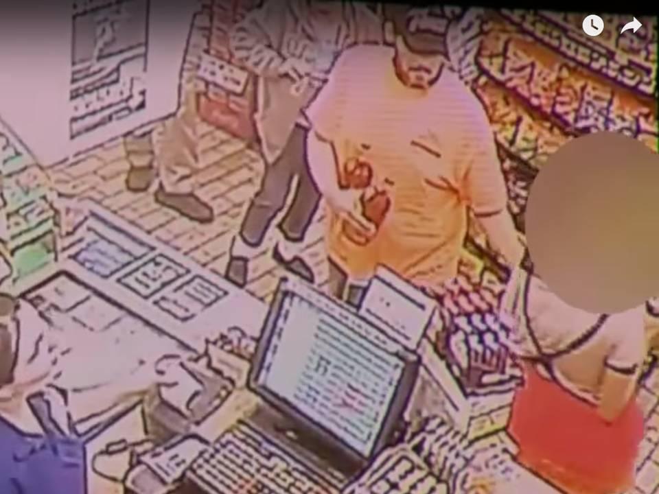 Surveillance video allegedly shows Naranjo handing a note to Cunha's teen daughter.