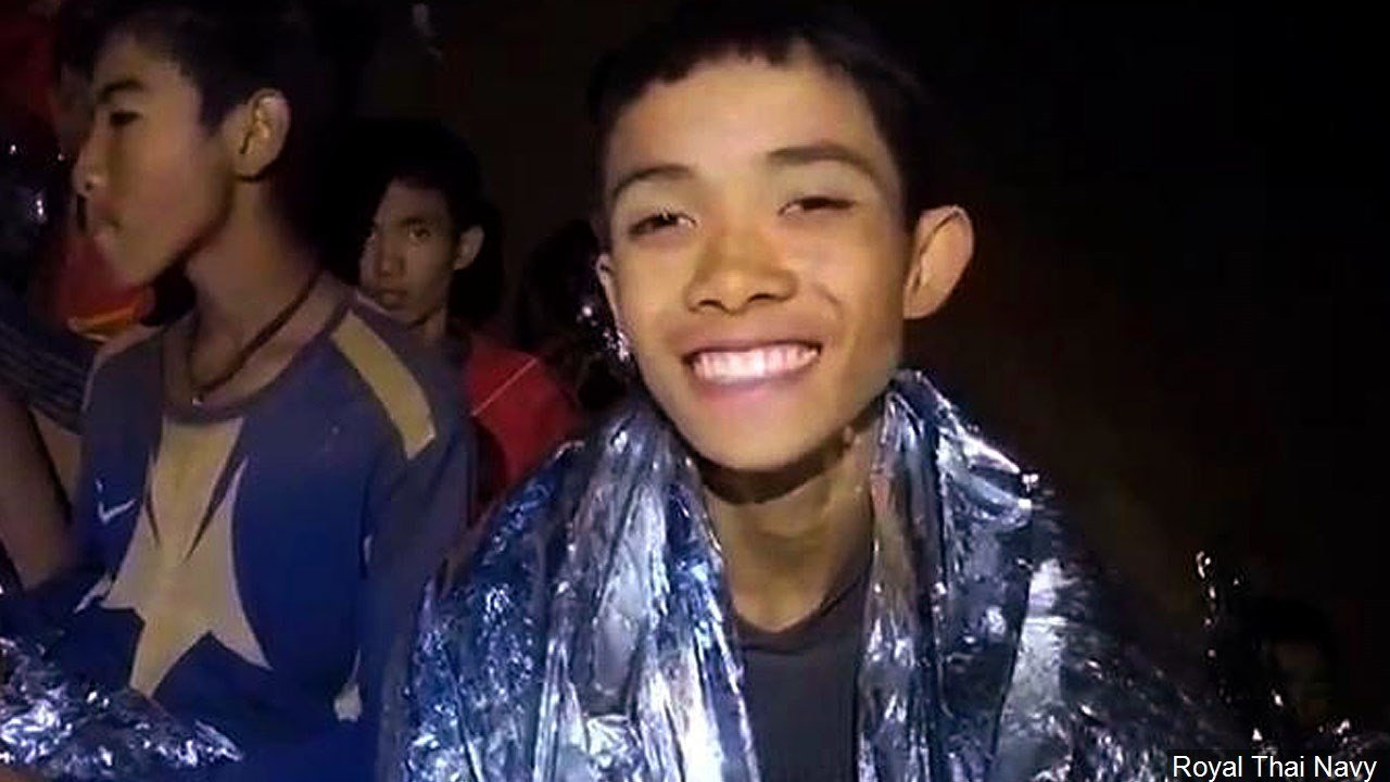 One of the 12 boys who is trapped in the Tham Luang Nang Non cave in Mae Sai, Chiang Rai province, in northern Thailand., Photo Date: July 2018