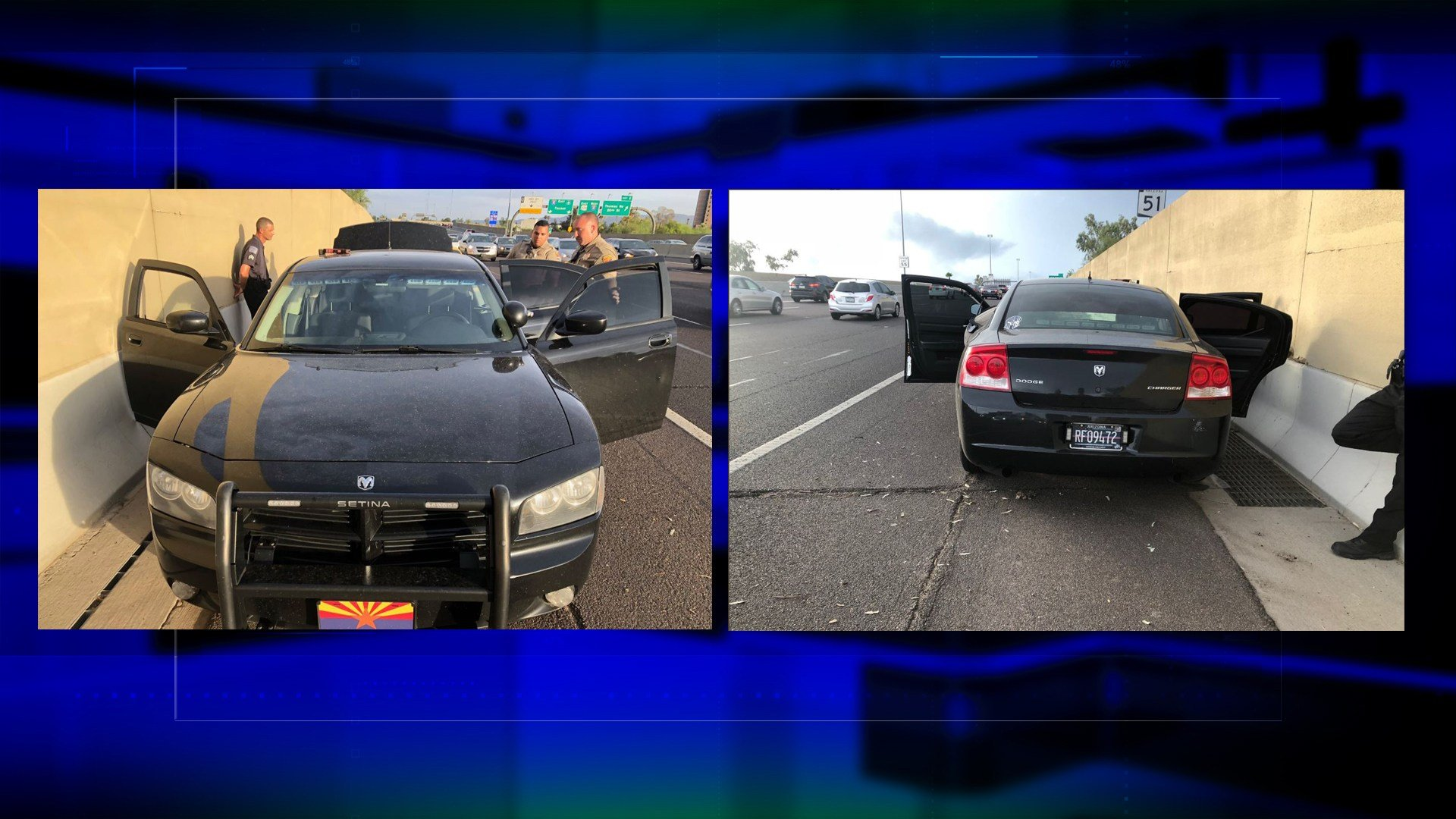 Arizona Police want people to contact them if they've been pulled over by this car