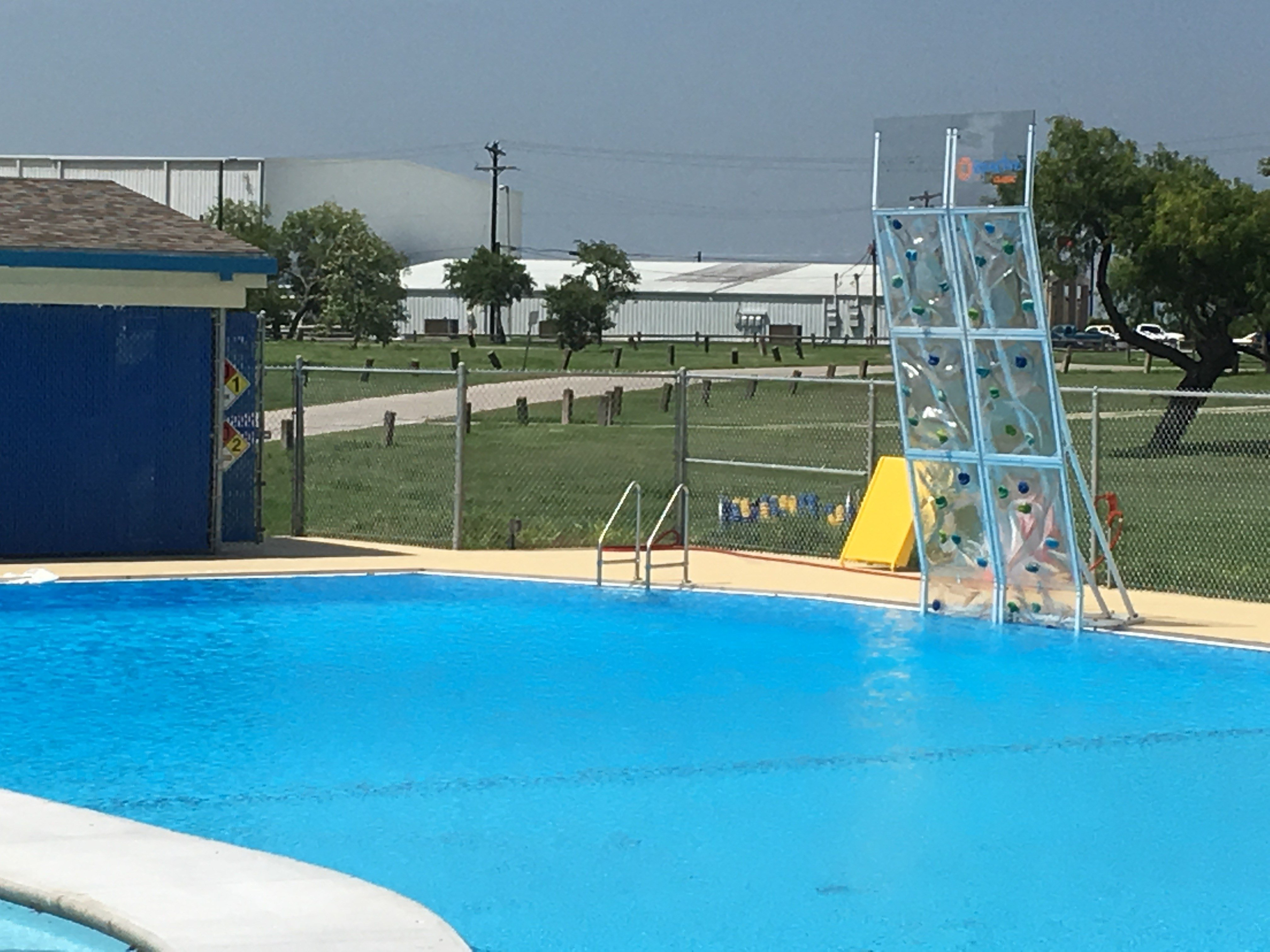 West Guth Park pool is opening back up after new features were added.