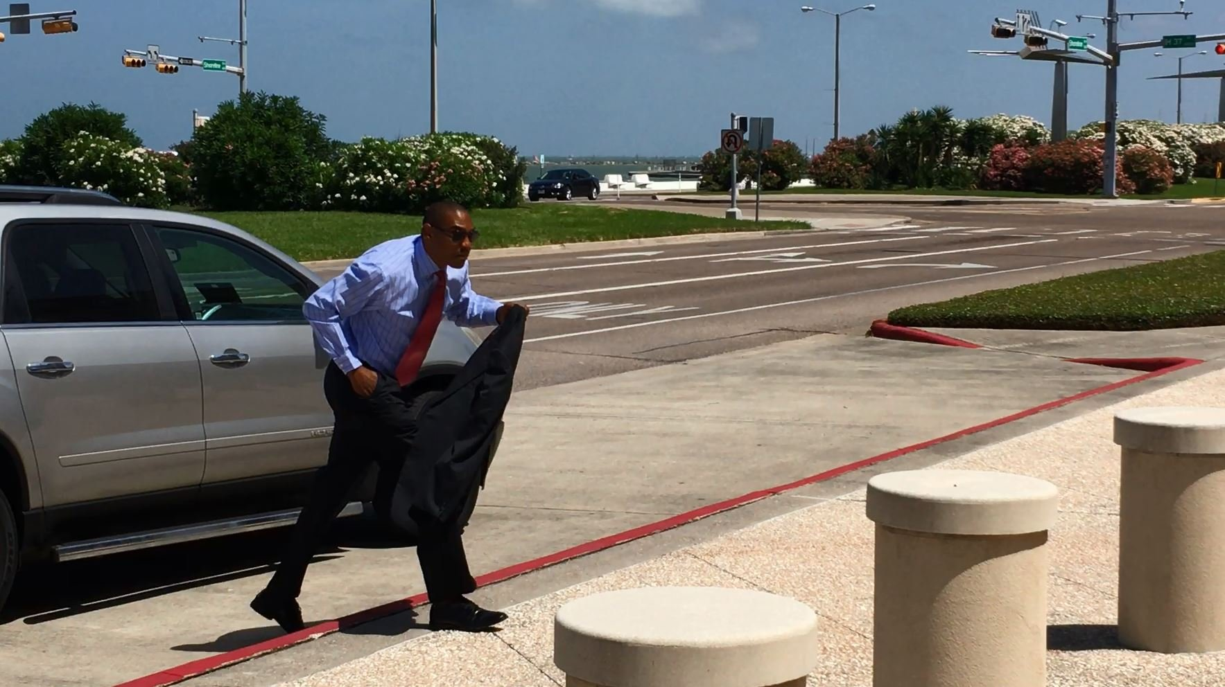 Dr. Michael Jerome Pendleton heads into federal court for sentence hearing.