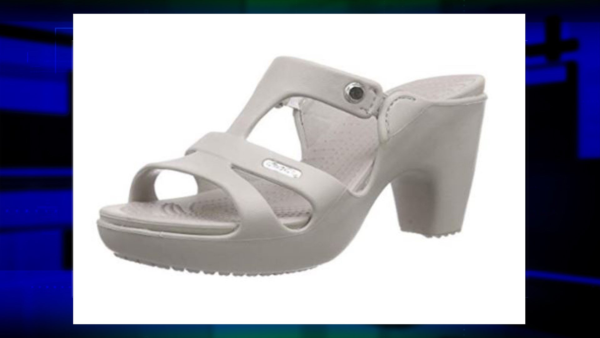 The 'Cyprus V Heel' from Crocs photo: CROCS