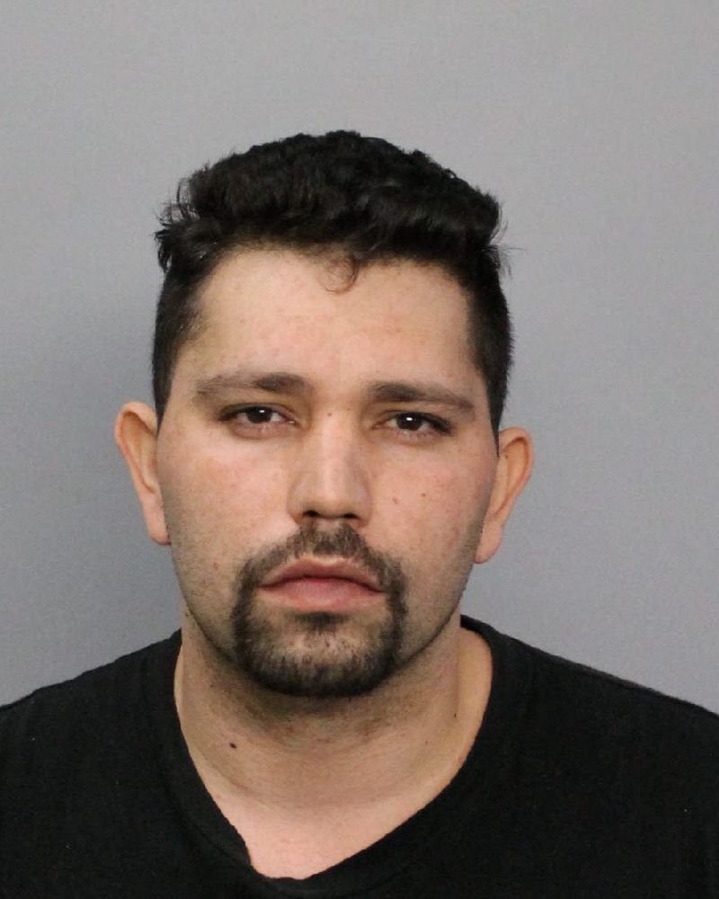 Santiago Garcia is facing drug charges following a raid at a home on Churchill Drive.