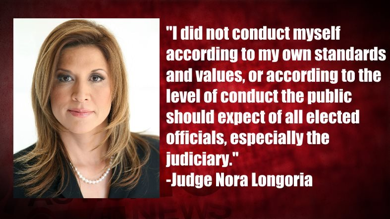 Judge Nora Longoria's statement issued on March 20th about her DWI arrest in 2014.