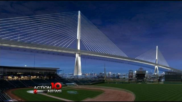Artistic rendition of the new Harbor Bridge in the works for Corpus Christi.