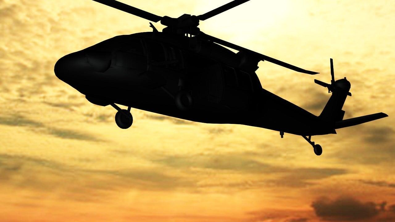 Uh 60 blackhawk silhouette