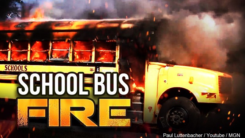 COLLEGE PARK, Md. (AP) - A school bus driver helped evacuate nearly two  dozen children from a bus after the vehicle caught fire.